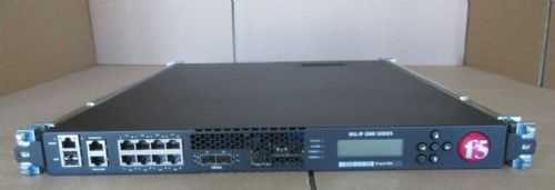 F5 Networks BIG-LTM-2000S 8GB BIG IP Load Balancer Ver 11.5.3  +2 x PSU + Rails